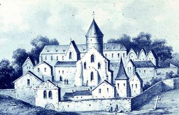 L'abbaye Saint-Antoine des Champs