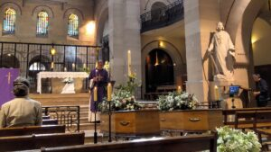 Les obsèques des Le Picart filmées pour leur retransmission sur YouTube